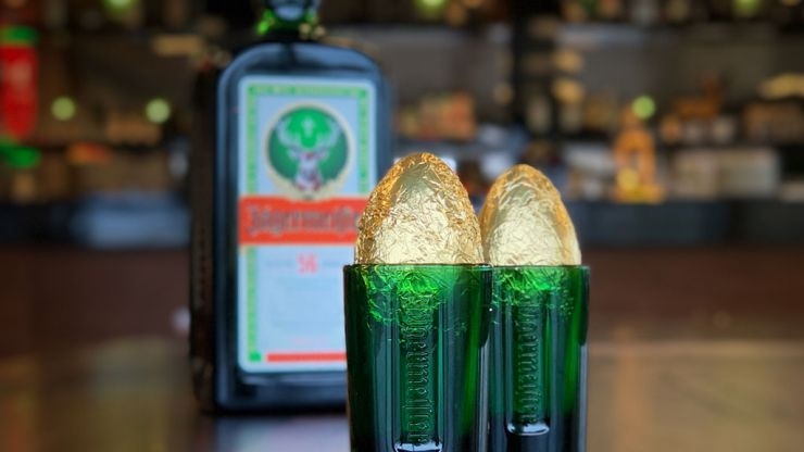 You can now get yourself a Jagermeister Easter Egg