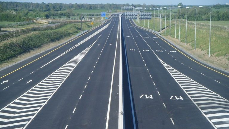 Gardaí issue major traffic diversion warning to drivers using M7 this weekend