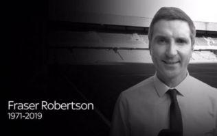 Tributes pour in for Sky Sports News Fraser Robertson, who has died aged 47