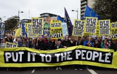 Hundreds of thousands to take to the streets of London to march for People's Vote