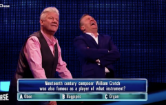 WATCH: Bradley Walsh can't hold himself together over question on The Chase