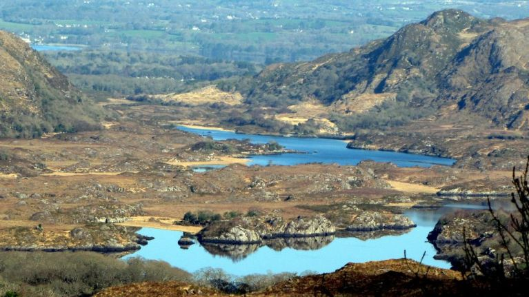 PIC: Major landmarks threatened by fire in Killarney National Park