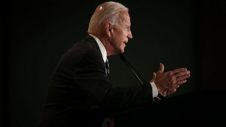 US politician details uncomfortable kiss encounter with Joe Biden