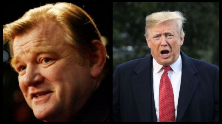 Brendan Gleeson cast as Donald Trump in new mini-series based on book by former FBI Director