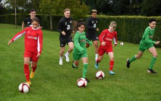 COMPETITION: Have your child train with Republic of Ireland senior football players