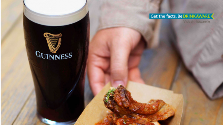 Guinness 232°C is bringing a once off live fire menu to Cork city
