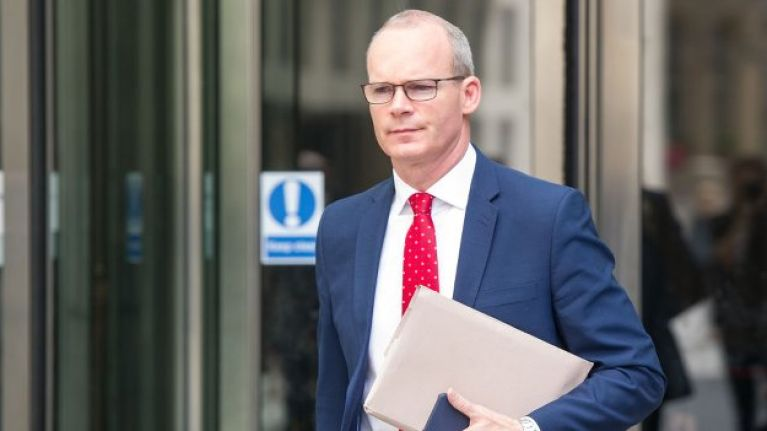 """Non-starter"" - Simon Coveney rejects UK customs posts proposal"