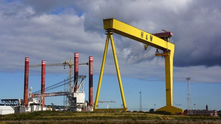 Belfast shipyard Harland and Wolff saved from closure