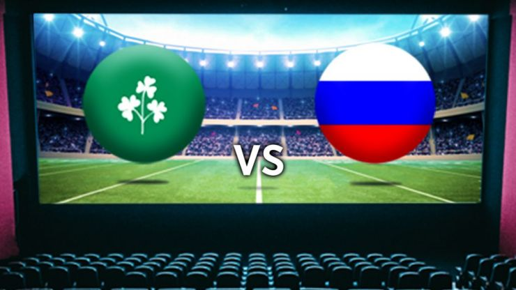 Cinemas around the country are showing Ireland v Russia game live on the big screen