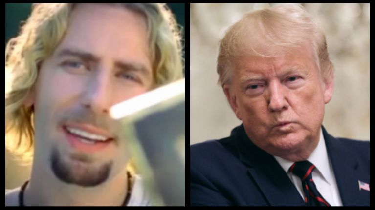 WATCH: Donald Trump drags Nickelback into his latest Twitter attack