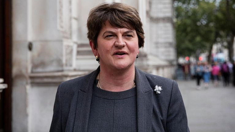 """Arlene Foster calls Simon Coveney """"unhelpful, obstructionist and intransigent"""""""