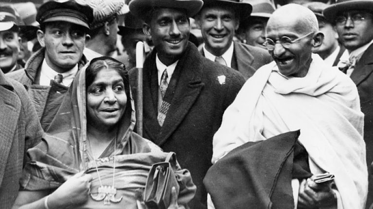 The ashes of Mahatma Gandhi stolen on his 150th birthday