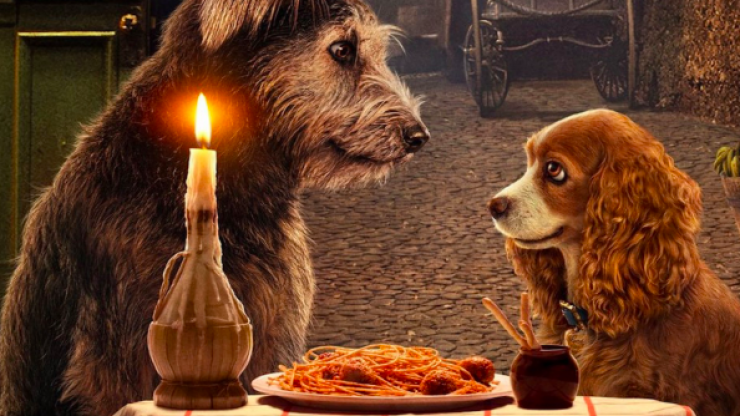 The new trailer for Lady and the Tramp is heaven for dog lovers