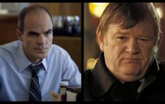"""Michael Kelly on why """"fearless"""" co-star Brendan Gleeson is perfect choice for Donald Trump"""