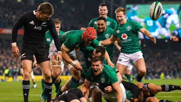 Omniplex cinemas around Ireland to screen Ireland v New Zealand live