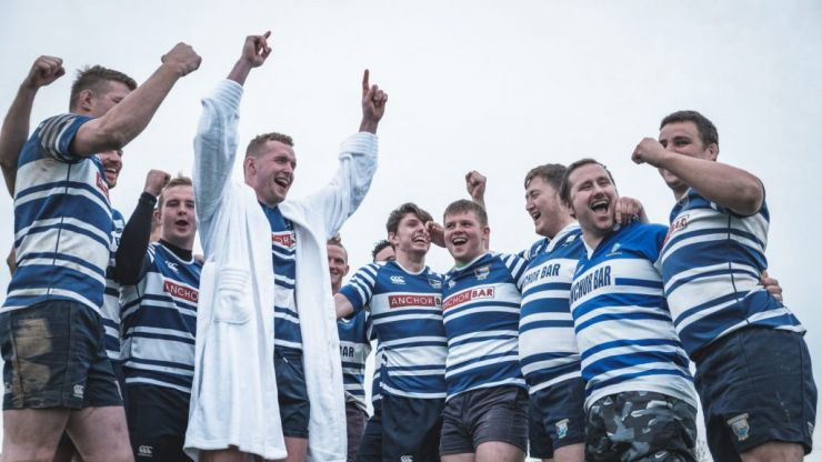 WATCH: The boys of Dungarvan RFC take our Ice Bath Quiz