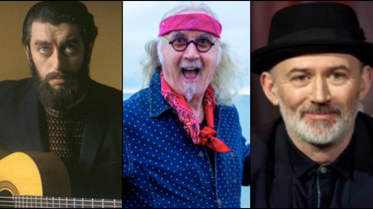 Billy Connolly says that he's doing good and heaps praise on Tommy Tiernan and Ronnie Drew