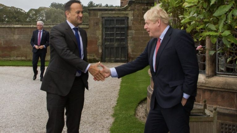 """Leo Varadkar and Boris Johnson signal """"a pathway to a possible deal"""" following face-to-face Brexit talks"""