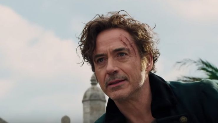 WATCH: It's out with Iron Man and in with Doctor Dolittle for Robert Downey Jr.