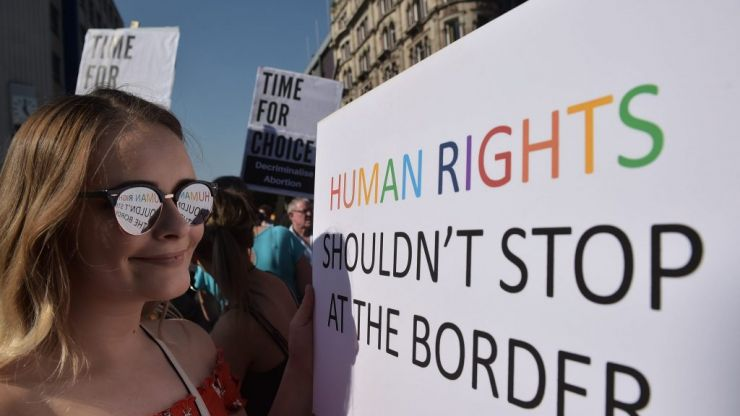 A group of British-Irish politicians have called for a citizens' assembly to help decide Northern Ireland's abortion law