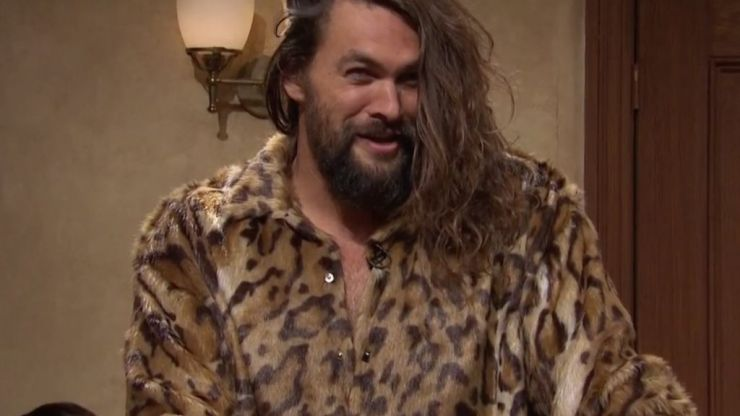 WATCH: Jason Momoa was properly hilarious as a gigolo on Saturday Night Live