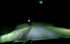 WATCH: Massive green 'meteor or a fireball' spotted flying over Irish skies on Monday night