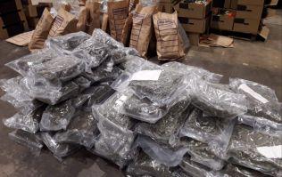 Gardaí in Dundalk seize €3.2million worth of drugs hidden in vegetables