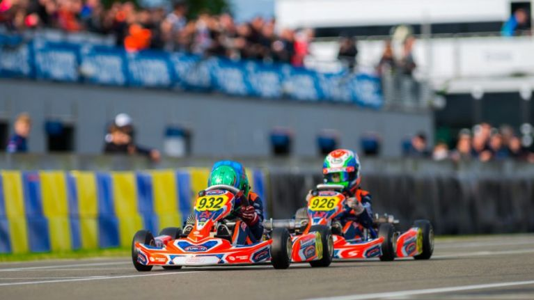 10-year-old Irish star wins karting World Championship in Le Mans, France