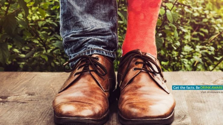 People all over Ireland will receive a free pint for wearing red socks this weekend