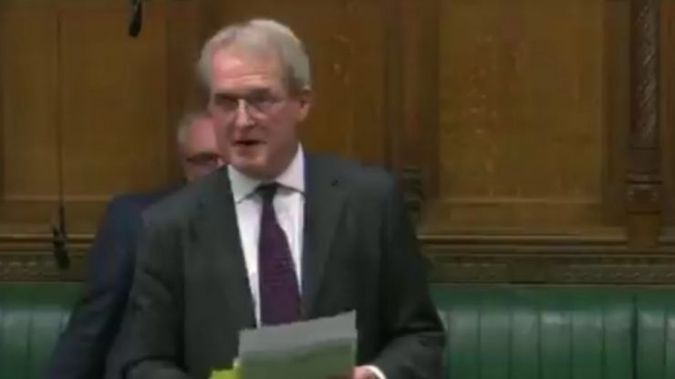 WATCH: MP in Westminster voicing his support of Brexit quotes Michael Collins in his debate