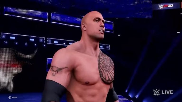 The new WWE video game is astonishingly broken