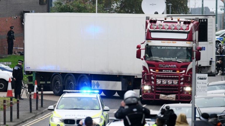 Eight people arrested in Vietnam over Essex container deaths