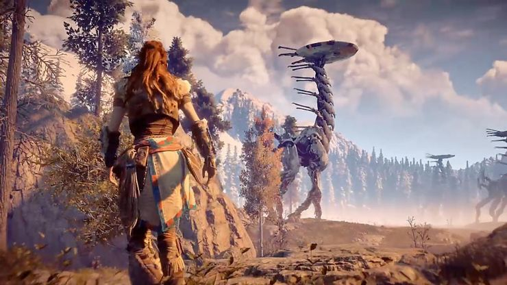 It looks like a sequel to the fantastic Horizon Zero Dawn is finally on the way
