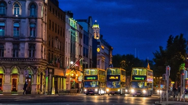 Dublin's first 24-hour bus routes to be rolled out from next month