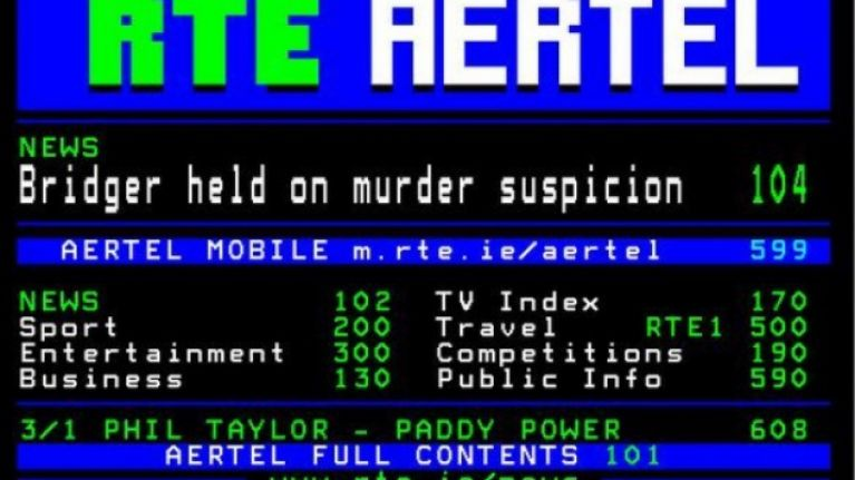 16 nostalgic memories of Aertel that only Irish people of a certain age will fully understand