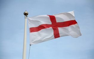 PICS: English flag burned in Louth ahead of Rugby World Cup final