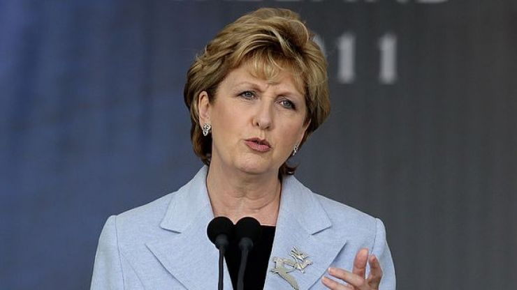 "Mary McAleese says Catholic Church's teachings on homosexuality are ""intrinsically evil"""