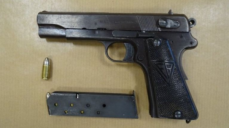 Two arrested after loaded firearm and ammunition seized in Dublin