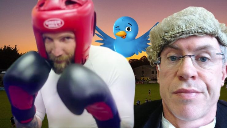 Seven years of Twitter debate between Joe Brolly and Colm Parkinson coming to a head next week