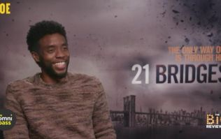 Chadwick Boseman on 21 Bridges, Black Panther 2, and Denzel in the MCU