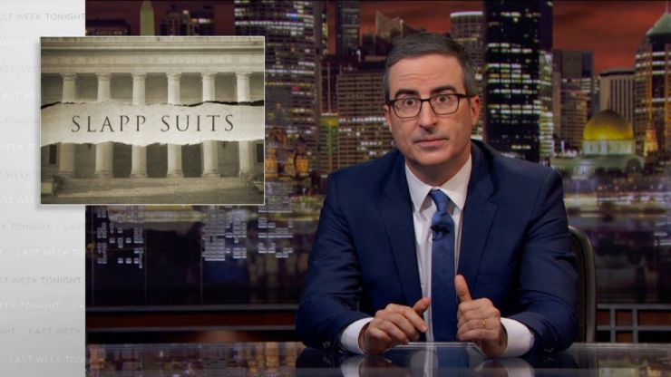 WATCH: John Oliver finally talks about the lawsuit that has been dropped against Last Week Tonight
