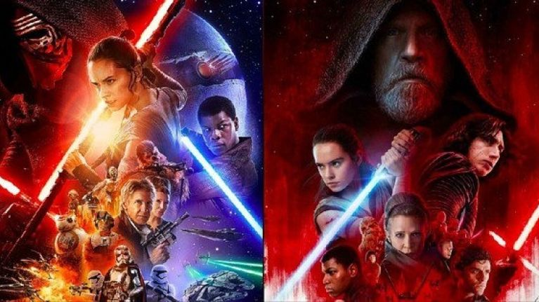 Force Awakens and Last Jedi being shown in cinemas around Ireland ahead of midnight Rise Of Skywalker screenings
