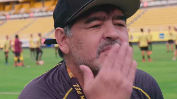 Netflix's new documentary series on Maradona sees the infamous icon head into cartel country