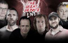 SportsJOE presents The Great Debate