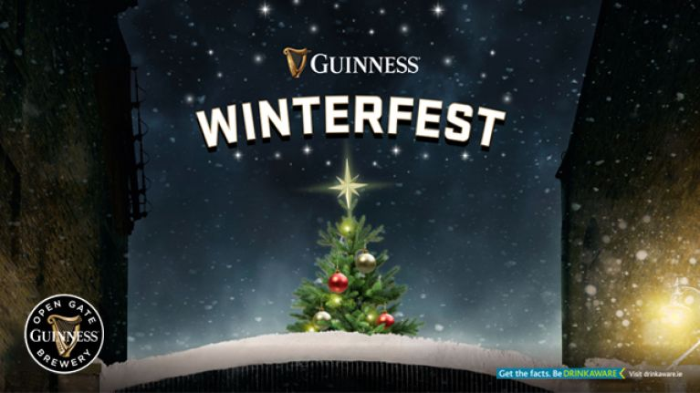 Winterfest is coming to Guinness Open Gate Brewery, and it sounds incredible