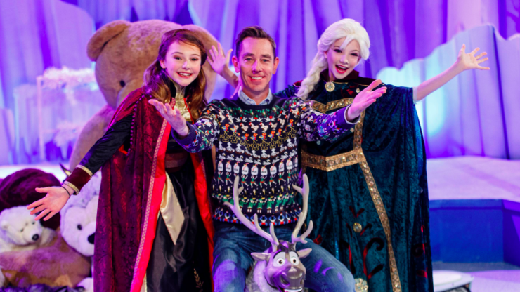 The theme for this year's Late Late Toy Show is Frozen