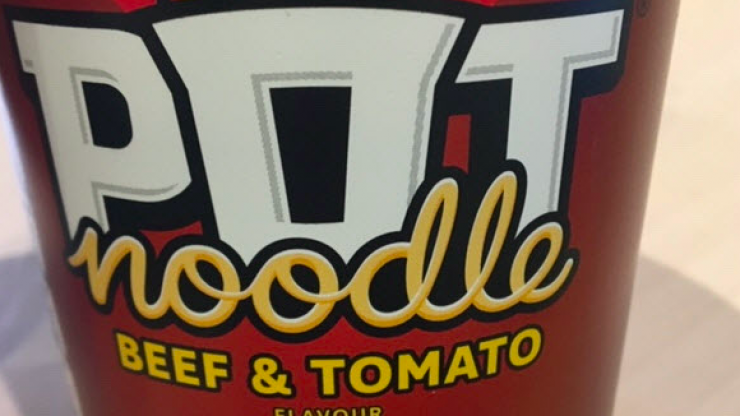 FSAI issue allergen warning over Pot Noodle Beef and Tomato flavour