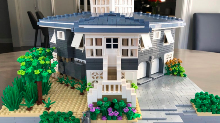 You can now get an exact LEGO replica of your house - but it'll cost you