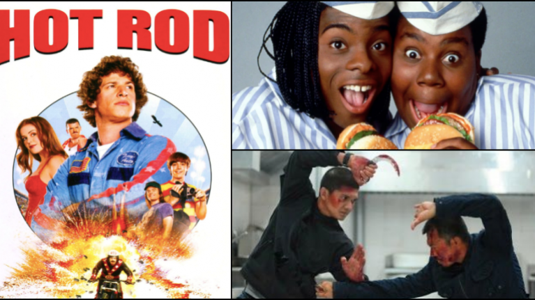 Hot Rod, The Raid 2, Good Burger, Ghost, and more great films have been added to Netflix