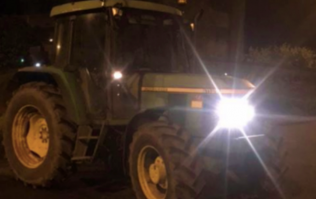 Gardaí stop and safely intercept a 12-year-old boy driving a tractor in Meath